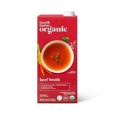 Organic Beef Broth - 32oz - Good & Gather™