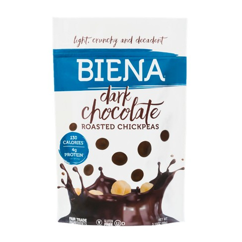 Biena Dark Chocolate Roasted Chickpeas - 3.15oz - image 1 of 1