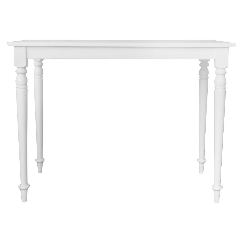 Newport Bar Table Antique White - Carolina Chair