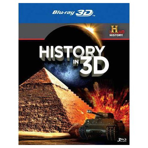 History in 3D (Blu-ray) - image 1 of 1