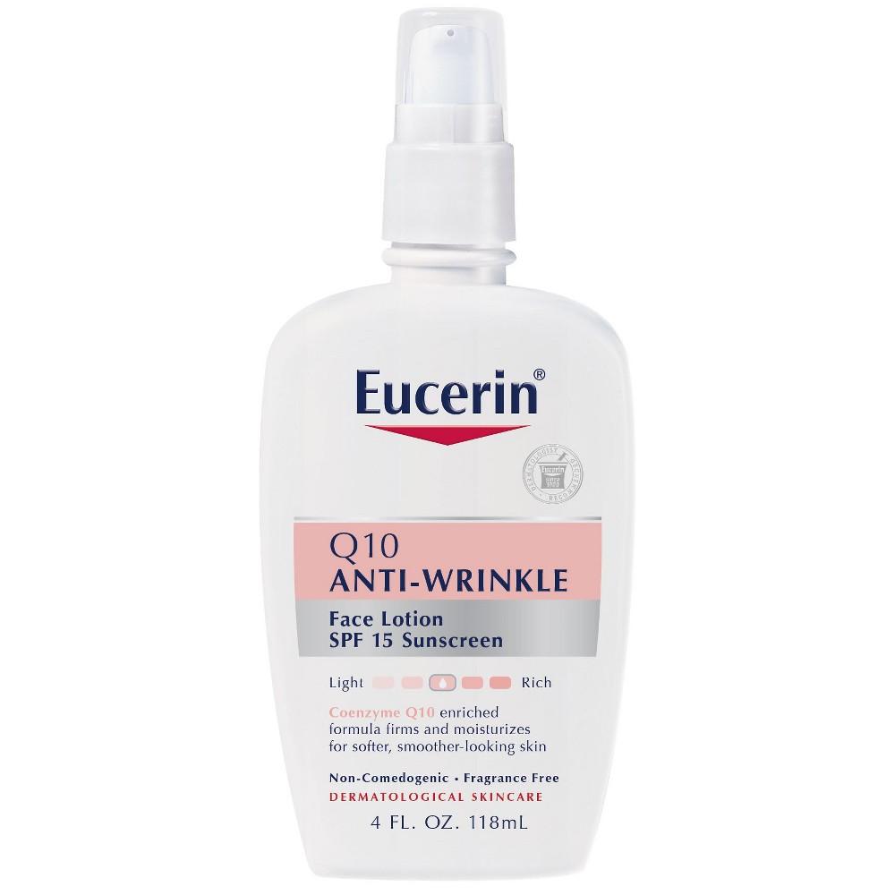 Image of Eucerin Q10 Anti-Wrinkle Face Lotion SPF 15 - 4oz