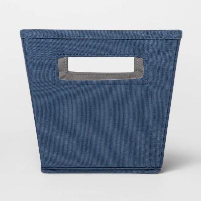 Fabric Quarter Bin Navy - Threshold™