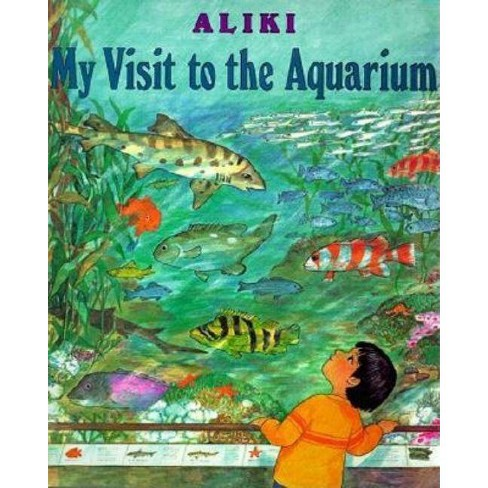 My Visit to the Aquarium - (Trophy Picture Books (Paperback)) (Paperback) - image 1 of 1