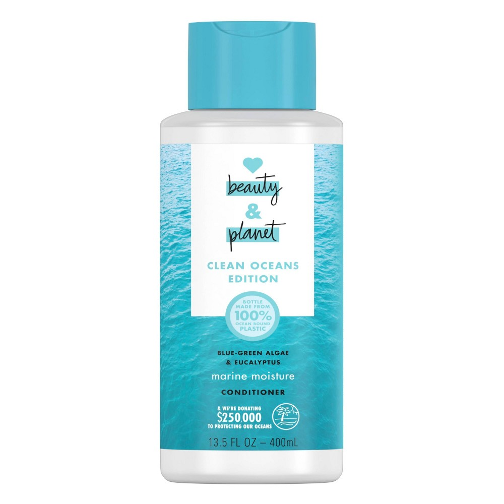 Image of Love Beauty and Planet Clean Ocean Blue Green Algae & Eucalyptus Conditioner - 13.5 fl oz