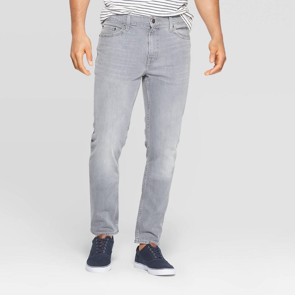 Men 39 S Slim Fit Jeans Goodfellow 38 Co 8482 Gray 42x30