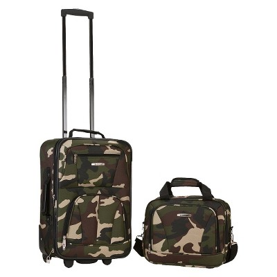 Rockland Rio 2pc Carry On Luggage Set
