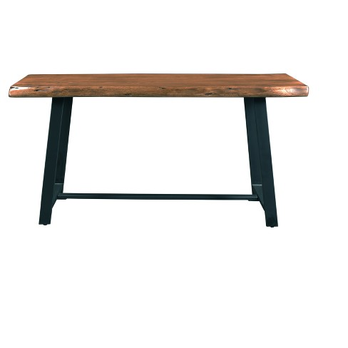 Highlander Console Table Acacia Wood Brown Christopher Knight Home