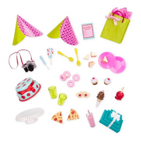 """Our Generation R.S.Be.Me Party Planning Birthday Party Accessory Set for 18"""" Dolls - image 1 of 4"""