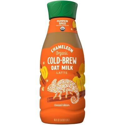 Chameleon Organic Pumpkin Spice Oat Milk Latte Cold Brew Coffee  - 46 fl oz