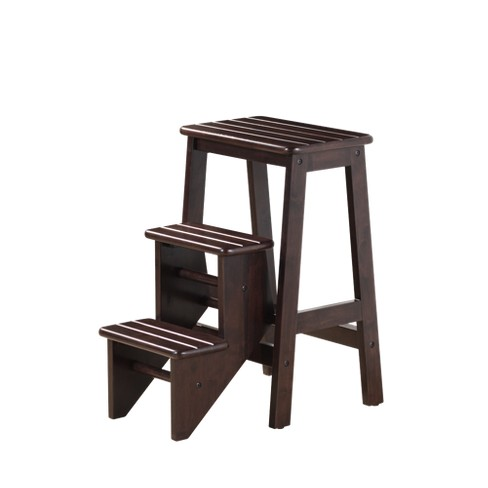 "24"" Boraam Industries Folding Step Stool - Cappuccino® - image 1 of 2"