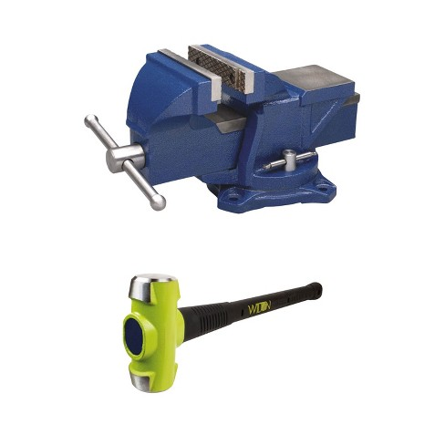 Marvelous Wilton 4 Inch Anvil Work Bench Vise Sledge Hammer With 10 Pound Head Caraccident5 Cool Chair Designs And Ideas Caraccident5Info