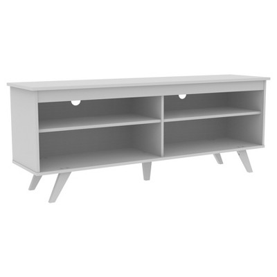 "Juno Modern Contemporary Simple Wood Storage Console TV Stand for TVs up to 65"" - Saracina Home"