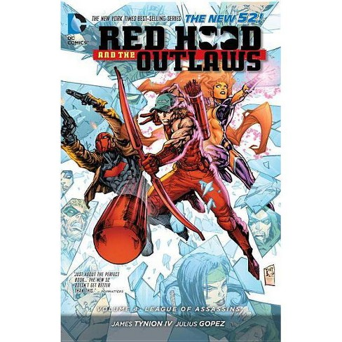 Red Hood and the Outlaws Vol. 4: League of Assassins (the New 52) - by  James Tynion IV (Paperback) - image 1 of 1