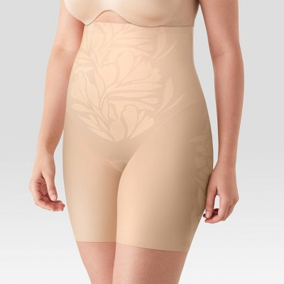 Maidenform Self Expressions Women's Lycra Fit Sense High-Waist Thigh Slimmer SE0072