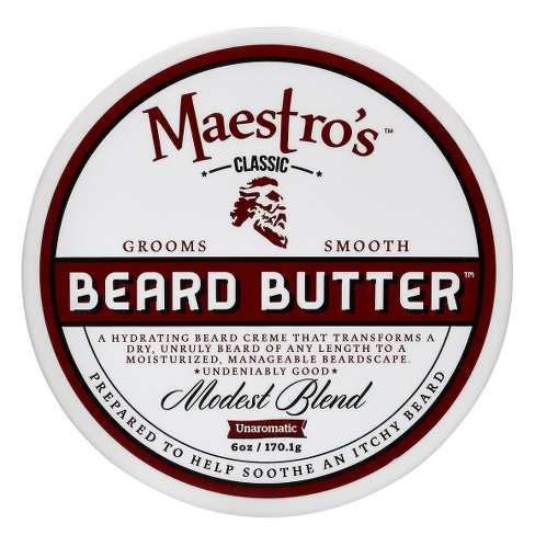 Maestro's Classic Beard Butter Modest Blend – 6.0 oz - image 1 of 1