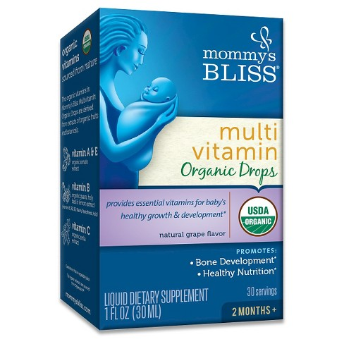 Mommy's Bliss Organic Multi Vitamin Drops - 1oz - image 1 of 1