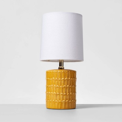Ceramic Mini Table Lamp Yellow - Opalhouse™