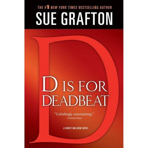 """""""d"""" Is for Deadbeat - (Kinsey Millhone Mysteries (Paperback)) by  Sue Grafton (Paperback) - image 1 of 1"""