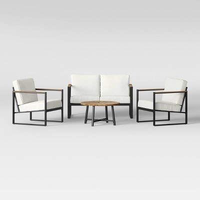 Coastal Casual Faux Wood Accent Table + Henning Conversation Set - Project 62™