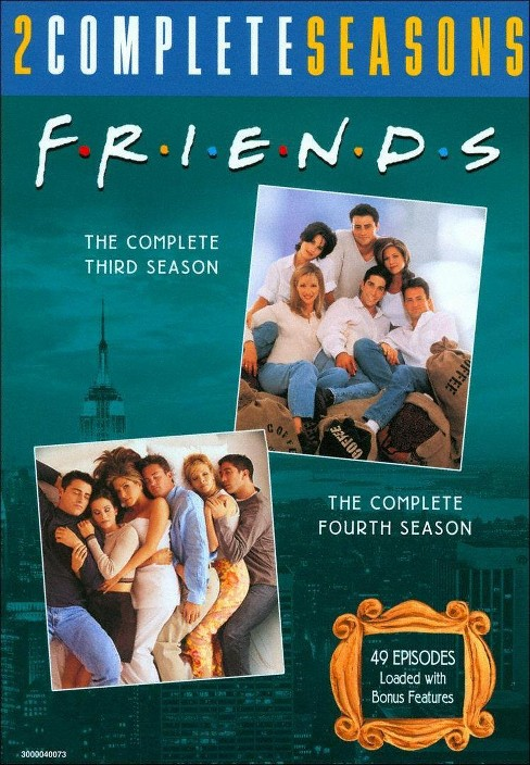 Friends:Complete third & fourth seaso (DVD) - image 1 of 1