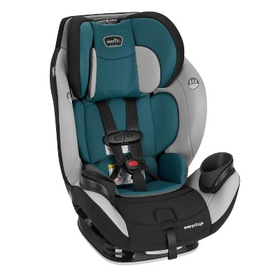 Evenflo EveryStage LX All in 1 Convertible Infant Child Car Booster Seat, Luna