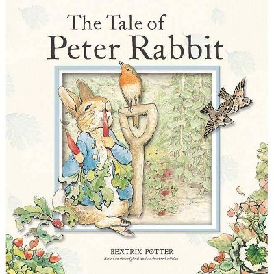 The Tale of Peter Rabbit - (Potter)by Beatrix Potter (Board Book)