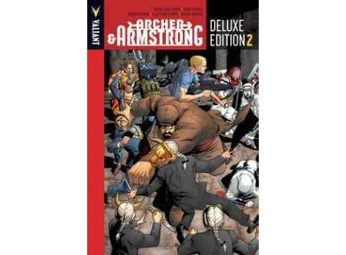 Archer & Armstrong 2 -  Deluxe (Archer & Armstrong) by Fred Van Lente & Ray Fawkes (Hardcover) - image 1 of 1
