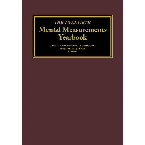 The Twentieth Mental Measurements Yearbook - by  Buros Center (Hardcover) - image 1 of 1