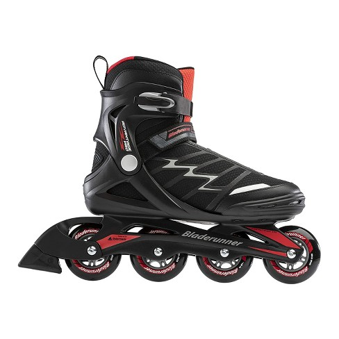 Rollerblade Bladerunner Advantage Pro XT Men's Adult Outdoor Recreational Fitness Inline Skate, Size 7, Black and Red - image 1 of 4