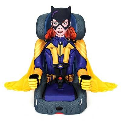 Kids Embrace Combination 2 in 1 Child Toddler Booster Seat & Forward Facing Car Seat, DC Comics BatGirl