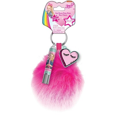 JoJo Siwa Lip Gloss Pom Pom & Key Chain - 0.08oz