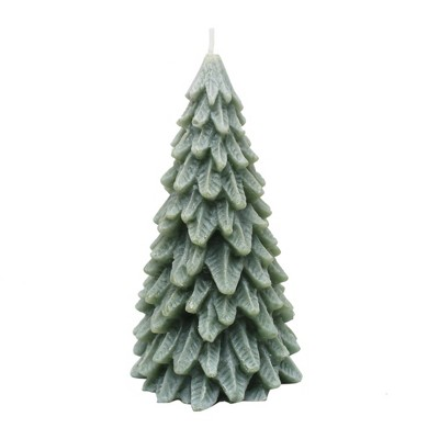 4  Small Novelty Christmas Tree Candle Evergreen - Chesapeake Bay Candle