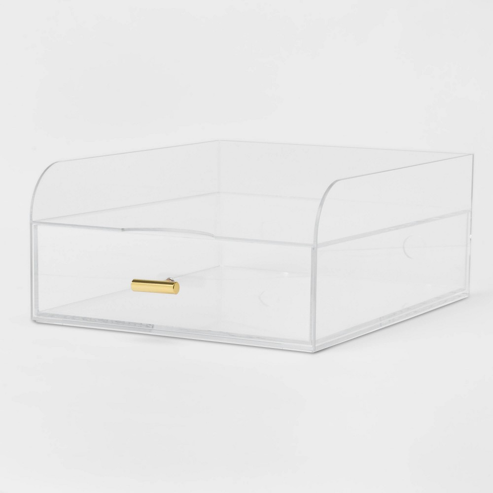 Acrylic Large Paper Tray With Drawer Project 62 8482