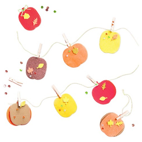 Harvest Pumpkin Bunting Craft Kit - Spritz™ - image 1 of 2