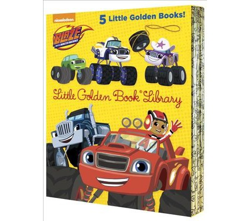 Blaze and the Monster Machines Little Golden Book Library (Hardcover) - image 1 of 1