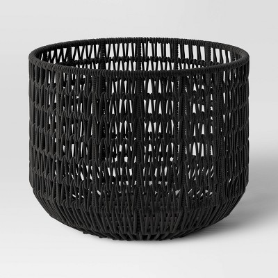 "18"" x 14"" Rope Basket Black - Project 62™"