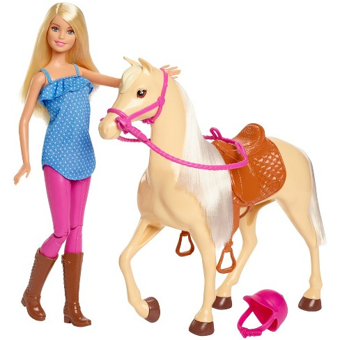 Barbie Doll & Horse - Blonde - image 1 of 8