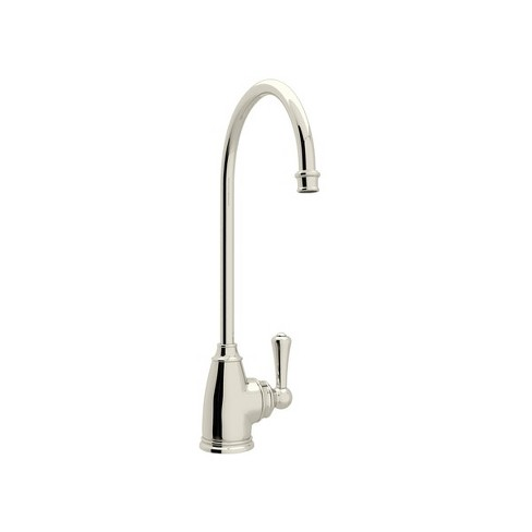 Rohl U.1625L-2 Perrin and Rowe Georgian Era 0.5 GPM Deck Mounted Cold Water Dispenser Faucet with Metal Lever Handle - image 1 of 2