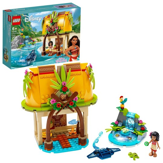 LEGO Disney Moana's Island Home 43183 Princess Building Playset image number null