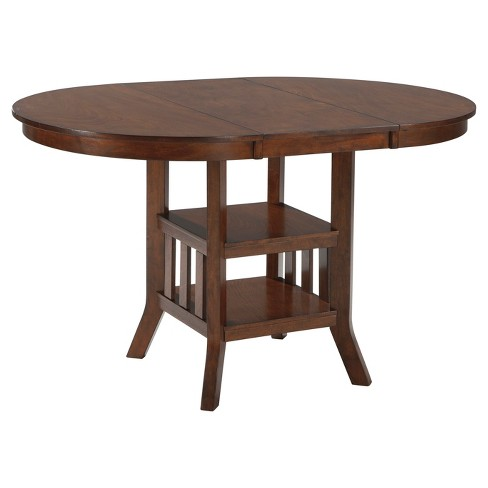 Renaburg Counter Height Dining Room Table - Medium Brown  - Signature Design by Ashley - image 1 of 4