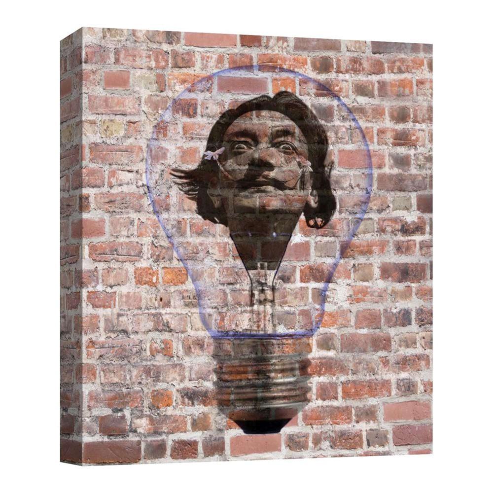 11 34 X 14 34 Crazy Bulb I Decorative Wall Art Ptm Images