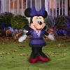 Gemmy Airblown Minnie in Bat Costume Disney , 3.5 ft Tall, Multicolored - image 2 of 2