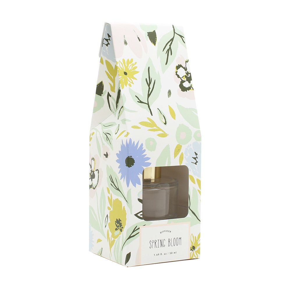 Image of 1.7oz Oil Diffuser Spring Bloom - Opalhouse, Blue & White