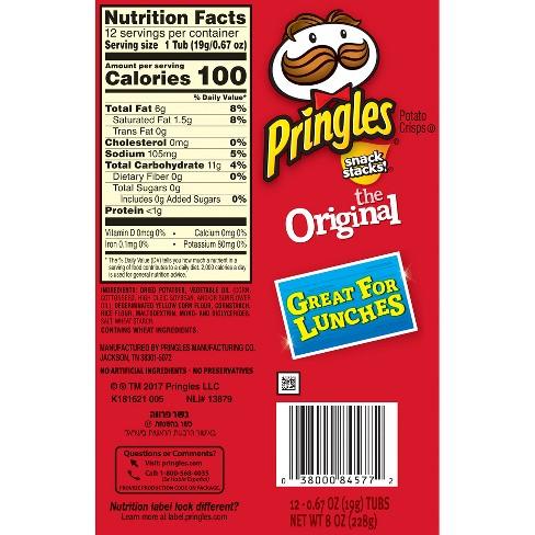 where are pringles manufactured