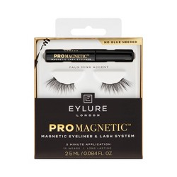Eylure ProMagnetic Liner Faux Mink Kit Accent - 1pr