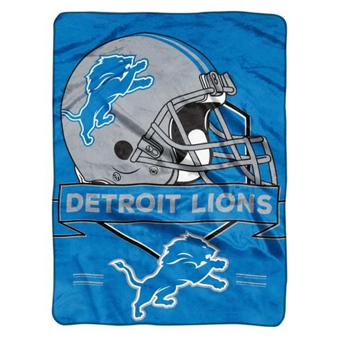 NFL Detroit Lions Raschel Throw Blanket   Target a8f4eda27