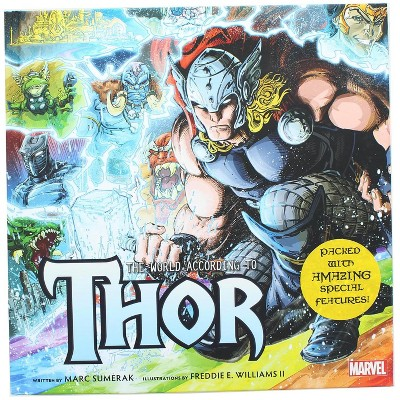 Geek Fuel c/o INDUSTRY RINO Marvel The World According to Thor Hardcover Book