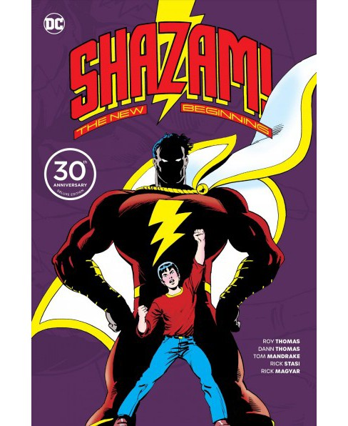 Shazam! : The New Beginning -  (Shazam) by Roy Thomas & Dann Thomas (Hardcover) - image 1 of 1