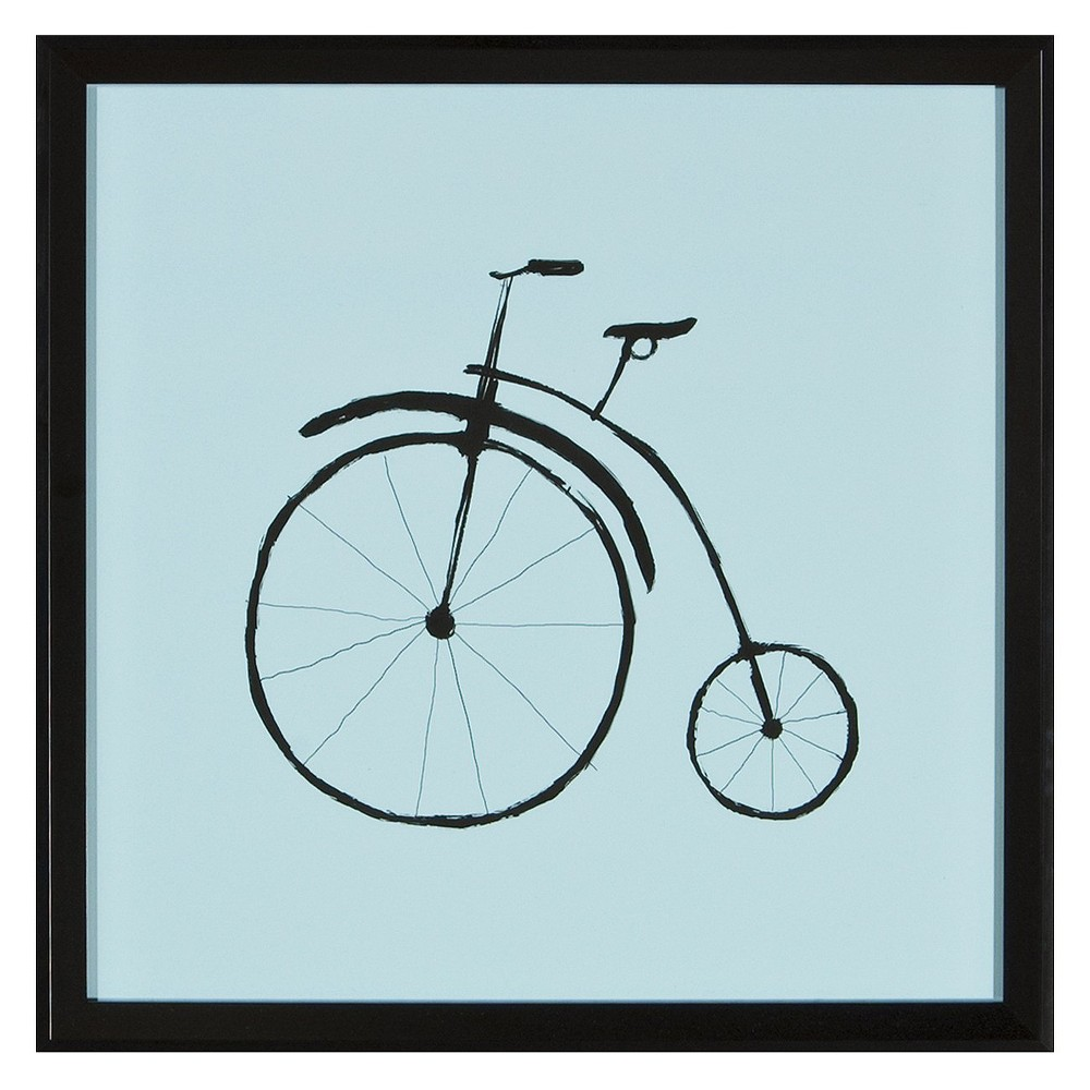15 34 X 15 34 Bicycle Ii Single Picture Frame Black Ptm Images