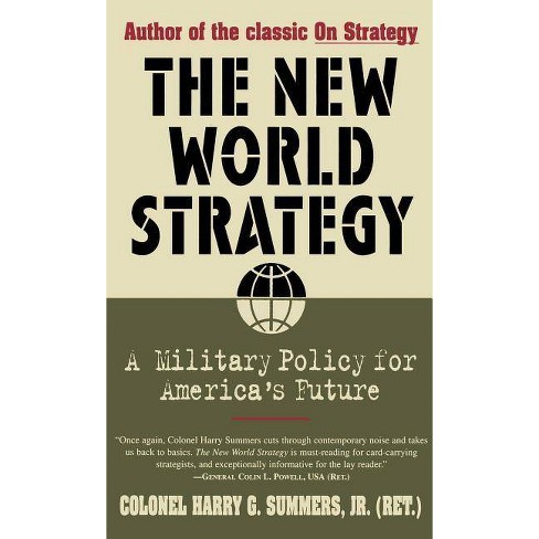New World Strategy - by  Harry G Summers (Paperback) - image 1 of 1